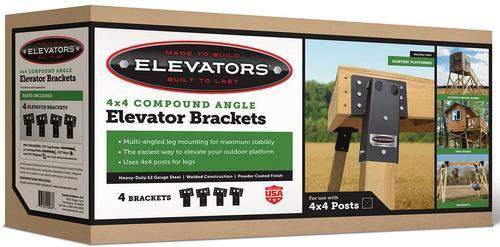 4x4 Compound Angle Elevators Set Of 4 At Menards A wide variety of stand brackets options are available to you, such as quality certification, usage, and material. 4x4 compound angle elevators set of 4