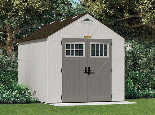 suncast tremont 8 x 10 shed at menards