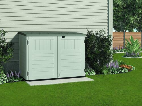 Suncast® The Stow Away® Horizontal Storage Shed At Menards®