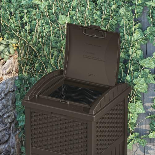 Suncast Trash Hideaway Garbage Container