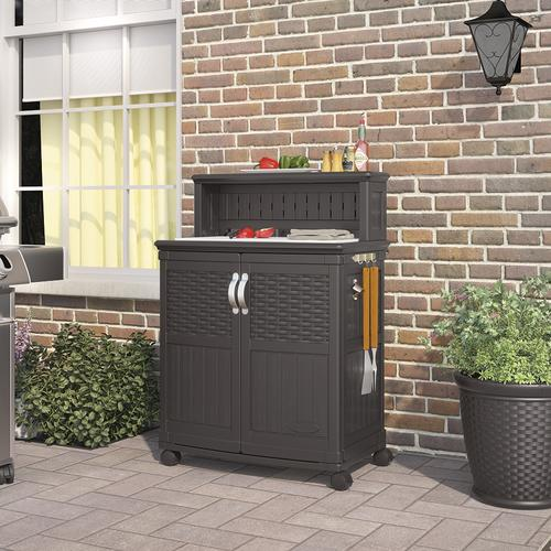 Menards & Suncast® Patio Storage and Prep Station at Menards®