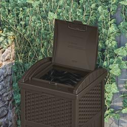 Decorative Outdoor Patio Garbage Cans  from hw.menardc.com