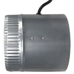 """Suncourt® Inductor 6"""" Corded In-Line Duct Fan at Menards®"""