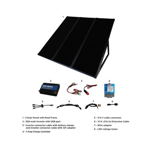 Coleman 55 Watt Solar Panel Kit At Menards
