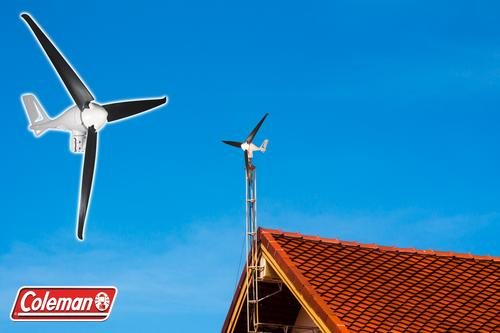 Coleman® 400W Wind Turbine at Menards®