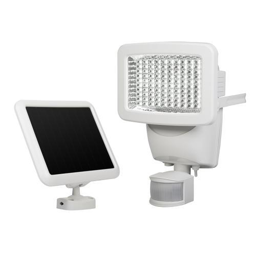 Patriot Lighting® White LED Single Head Solar Powered Motion