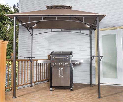& Backyard Creations™ Grill Gazebo with LED Lights at Menards®