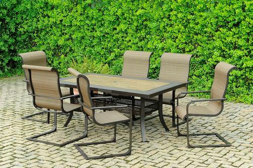 Backyard Creations Patio Furniture At Menards Throughout