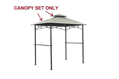 Replacement Canopy For Grill Gazebo At