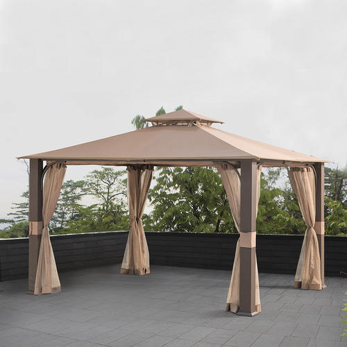 Backyard Creations™ Woven Post Gazebo At Menards®