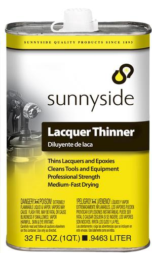 Sunnyside® Lacquer Thinner - 1 qt at Menards®