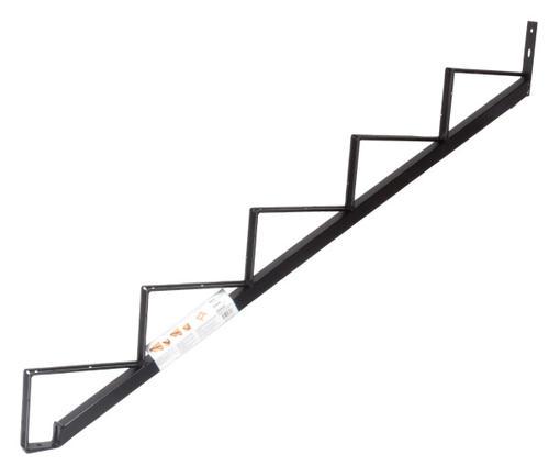 Black Steel 5 Step Stair Stringer At Menards®