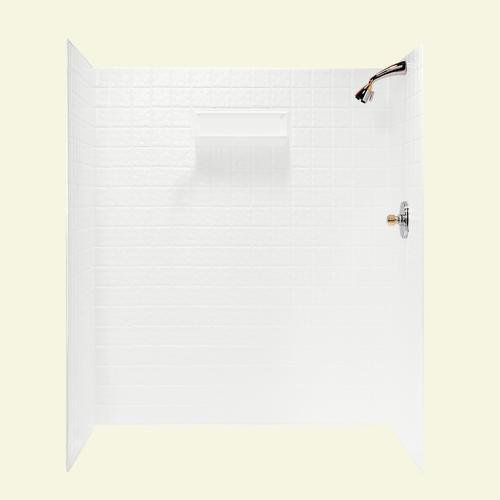 Swanstone 60 Quot X 36 Quot Tile Shower Wall Surround At Menards 174