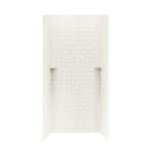 Swanstone 36 Quot X 36 Quot Subway Tile Shower Wall Surround At