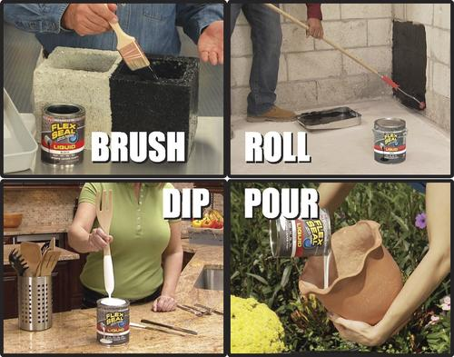 FLEX SEAL® Liquid Rubber Sealant Coating at Menards®