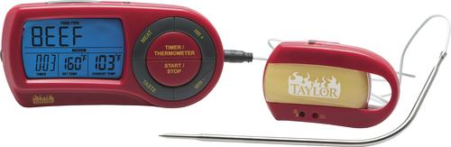 Weekend Warrior Wireless Grilling Thermometer with Remote ...