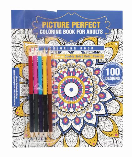 Creative Charm Adult Coloring Book - Assorted Styles at Menards®