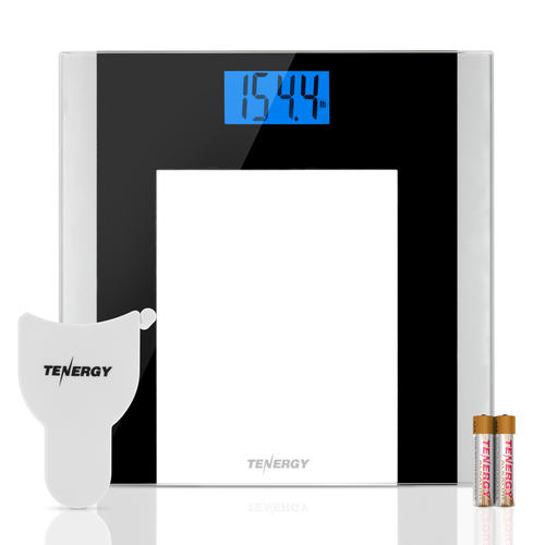 . Tenergy Glass LCD Digital Body Scale at Menards