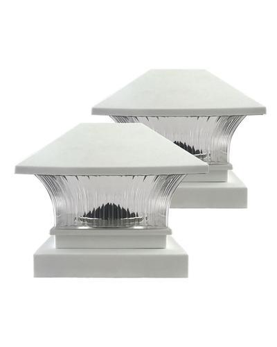 e0b5974a342 Patriot Lighting® Solar LED 2-Pack Fosston Post Cap at Menards®