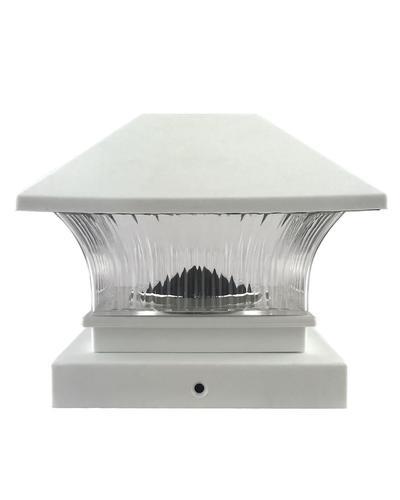 Solar Lights At Menards: Patriot Lighting® Solar LED 2-Pack Fosston Post Cap At