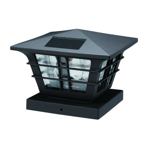 Patriot Lighting 174 Solar Integrated Led Wixom Post Cap