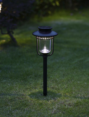 Patriot Lighting Solar Integrated Led Leighton Landscape