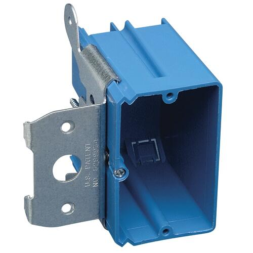 Carlon 1 Gang 21 Cu In Pvc Adjustable Electrical Switch Outlet Box At Menards