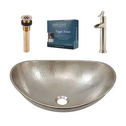 Sinkology Hobbes All In One Vessel Sink Design Kit With Pfister Faucet And  Drain