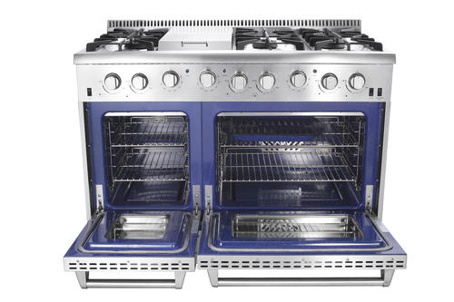 Thor Kitchen 48 Lp Gas Range At Menards