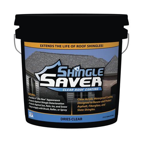 Sealbest Shingle Saver Clear Roof Coating 0 9 Gal At Menards