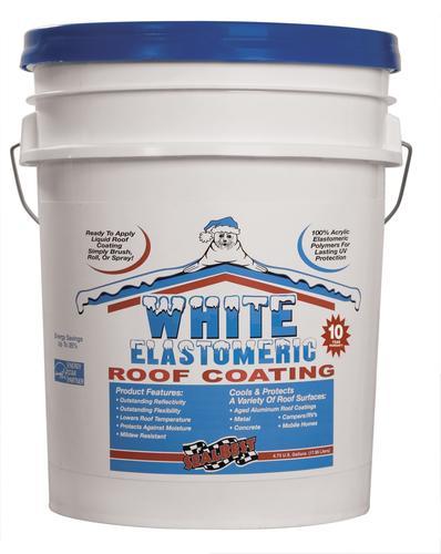 SealBest White Elastomeric Roof Coating - 4 75-gal  at Menards®