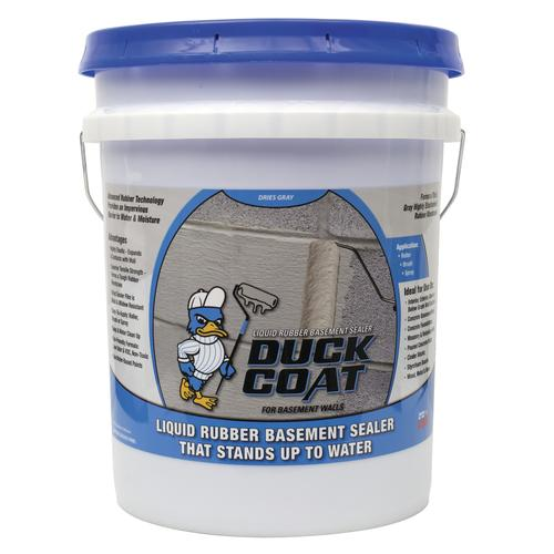 Duck Coat Liquid Rubber Basement Sealer