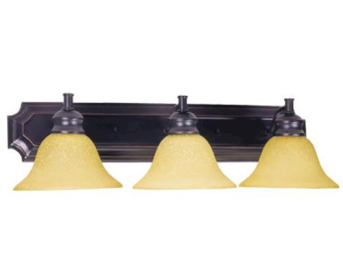 """Oil Rubbed Bronze Bathroom Vanity Ceiling Lights: Bristol 3-Light 24"""" Oil-Rubbed Bronze Indoor Vanity Light"""