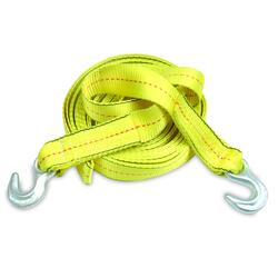 "SmartStraps® 30' x 2"" Yellow Tow Strap with Hooks at Menards®"