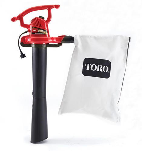 Toro 340 Cfm 12 Amp Corded Electric Leaf Blower Vacuum Mulcher At Menards
