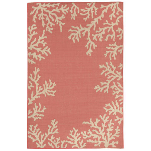 Liora Manne Marcel Border C Indoor Outdoor Area Rug 1 11 X