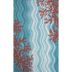 9343f8b75d2 Liora Manne® Dimensions IV Coral Reef Indoor Outdoor Area Rug 8  x 10