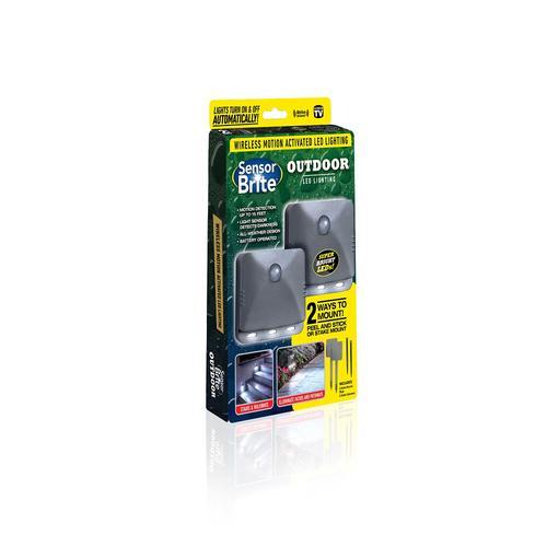 Sensor Brite Outdoor Motion Sensor LED Flood Light at Menards®