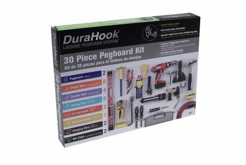 """100PCS  4/"""" PEG BOARD HOOKS Shelf Hanger Kit 4/"""" x 1//8/"""" Garage Storage Hanging Set"""