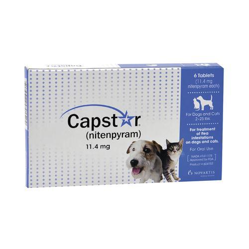 Capstar Flea Tablets 6 Pk At Menards