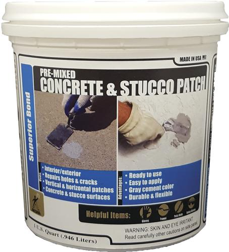 Akona 174 Pre Mixed Concrete Amp Stucco Patch 1 Quart At Menards 174