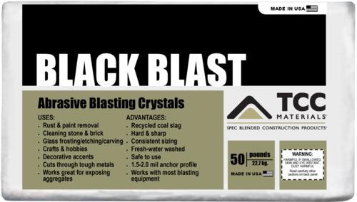 Black Blast Blasting Sand - 50 lb at Menards®