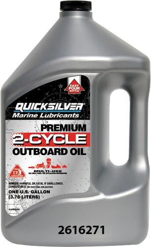 Mercury® Quicksilver® Premium 2-Cycle Marine Oil at Menards®