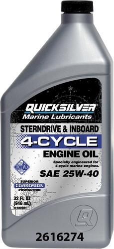 Mercury® Quicksilver® 4-Cycle Marine Oil - 1 Quart at Menards®