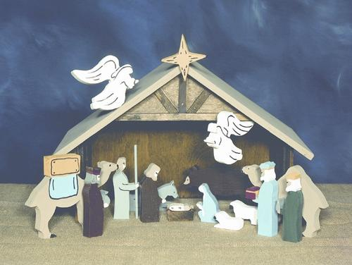 Tabletop Nativity - Building Plans Only at Menards® on christmas plans, train plans, halloween plans, temple plans, sheep plans, outdoor wooden manger plans, birth plans, church plans, life plans, marriage plans, sleigh plans,