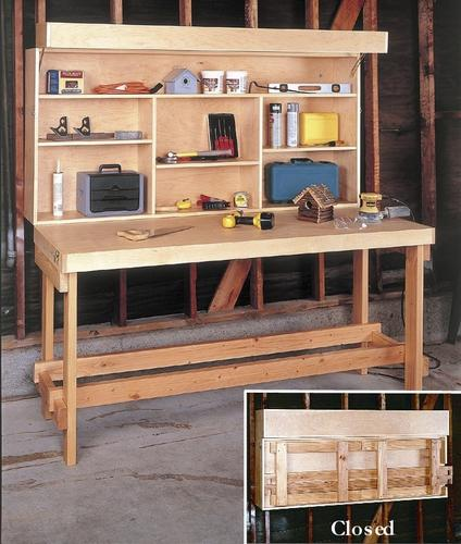 Groovy Space Saver Workbench Building Plans Only At Menards Machost Co Dining Chair Design Ideas Machostcouk