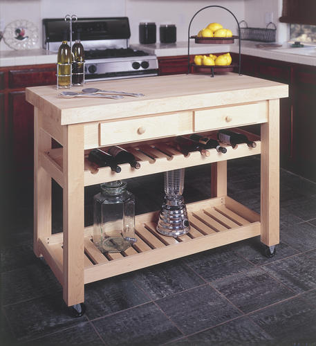 Kitchen Island - Building Plans Only at Menards®