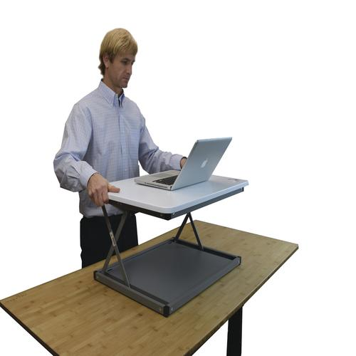 Uncaged Ergonomics® CHANGEdesk Mini Standing Desk Converter