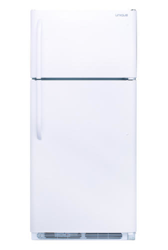 Unique® 18 2 cu ft White Off-Grid Propane Refrigerator at