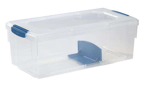 Rubbermaid® Media U0026 Photo Box Clear Storage Bin At Menards®
